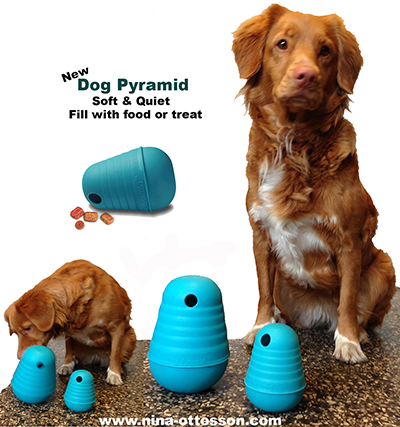 DOGPYRAMID - MEDIUM -TPE - SOFT & QUIET.
