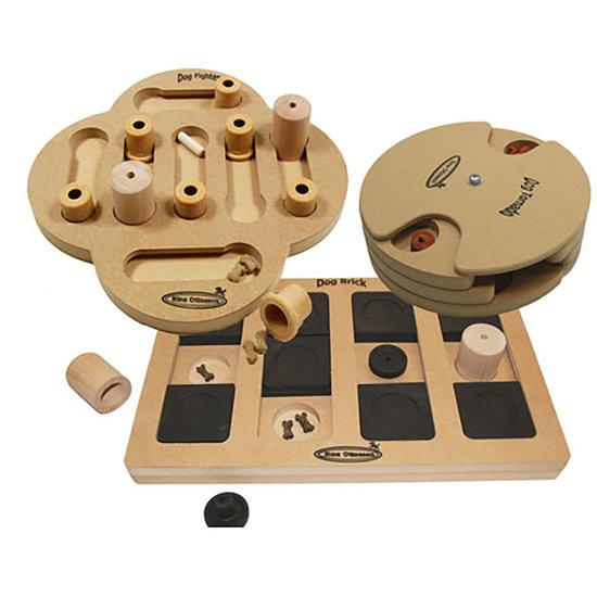 3 IQ Spel, trä, svårighetsgrad 2, advanced. Eco-Friendly material