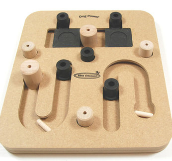 DogPower Multigame, holz. Schwierigkeitsgrade 2 & 3.    3 solutions in 1 game. Natural, Eco-Friendly material