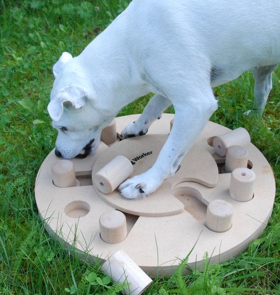 DogWorker, legno. Grado di difficoltá 3. Advanced multi game. Natural, Eco-Friendly material
