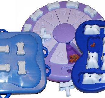 3 IQ aktivitet legetøj, plast. Sværhedsgrad 2 & 3, advanced