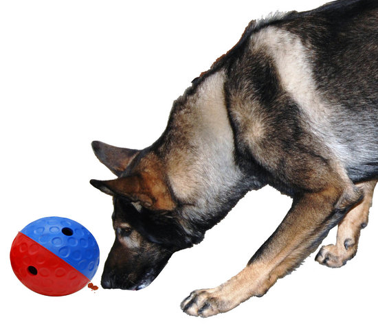 "DOG TREAT BALL ""QULAN"". Large."