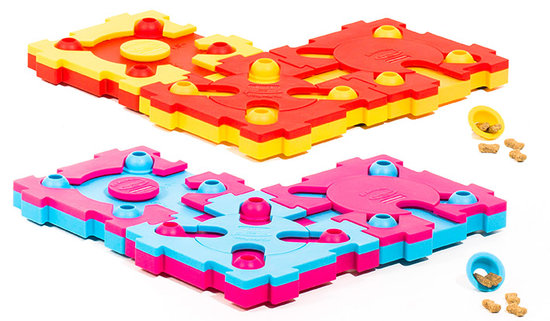 Covers MixMax Puzzle, plastic, 8 pieces.