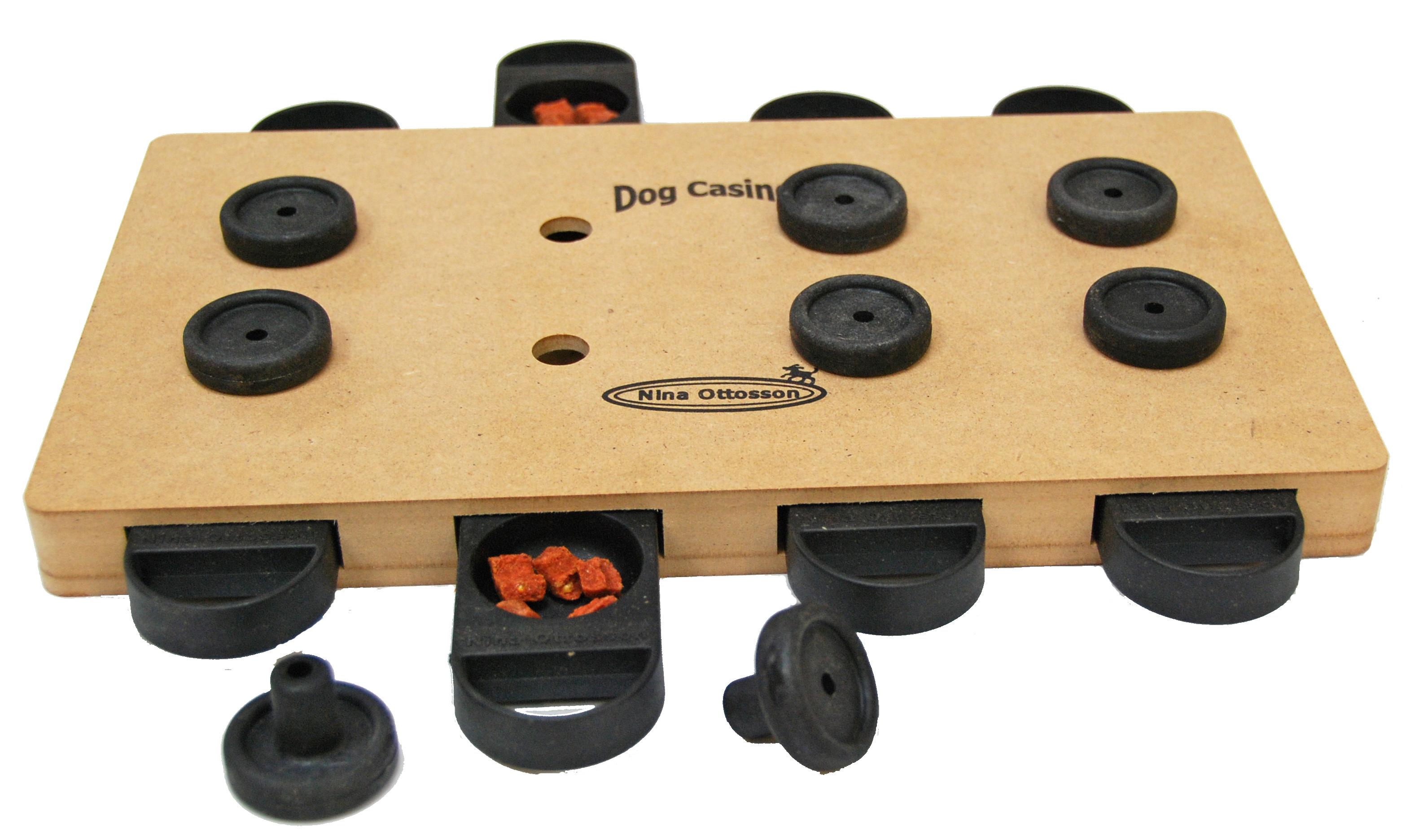 Nina Ottosson Dog Toys Shop DogCasino wood Level 3 Natural